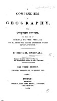 A Compendium of Geography for the use of schools  etc PDF