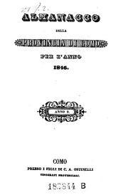 Almanacco Della Provincia Di Como: Volume 6