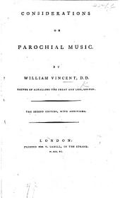 Considerations on Parochial Music