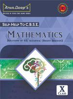 Self-Help to CBSE Mathematics 10 (Solutions of RS Aggarwal)