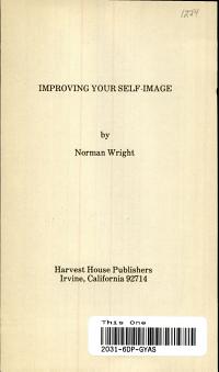 Improving Your Self image PDF