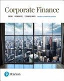 Corporate Finance  Fourth Canadian Edition