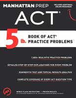 5 lb  Book of ACT Practice Problems PDF