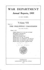 Annual Report of the Secretary of War: Volume 7
