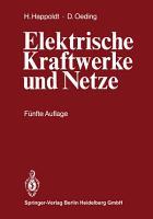 Elektrische Kraftwerke und Netze PDF