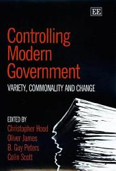 Controlling Modern Government: Variety, Commonality and Change