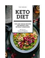 The Indian Keto Diet Book PDF