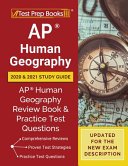 Ap Human Geography 2020 And 2021 Study Guide Book PDF