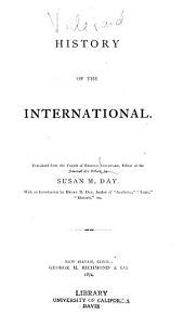 History of the International