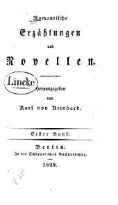 Romantische Erzählungen und Novellen: Band 1