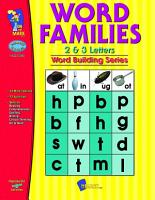 Word Families 2   3 Letter Words Gr  1 3 PDF