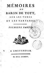 Mémoires sur les Turcs et les Tartares