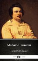 Madame Firmiani by Honor   de Balzac   Delphi Classics  Illustrated  PDF