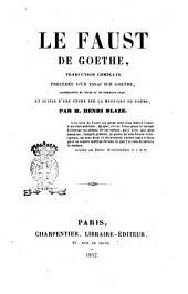 Le Faust de Goethe