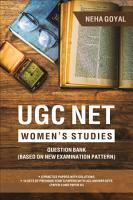UGC Net Women s Studies PDF