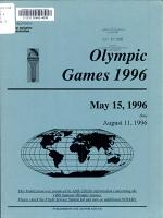Olympic Games, 1996