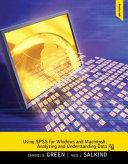 Using SPSS for Windows and Macintosh PDF