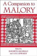 A Companion to Malory PDF