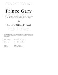 Prince Gary Book PDF