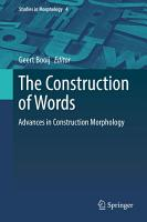 The Construction of Words PDF