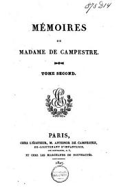 Mémoires de madame de Campestre: Volume2