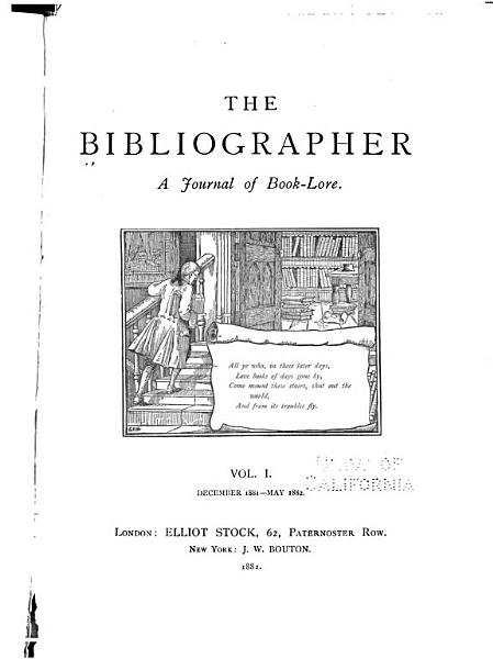 Download The Bibliographer Book