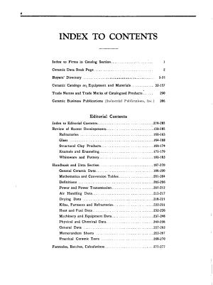 Ceramic Data Book PDF
