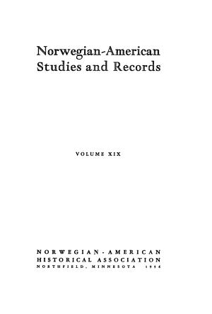 Norwegian American Studies