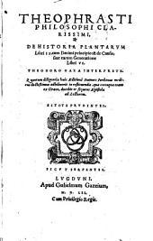 De historia plantarum libri IX: cum de principibus et de causis s. earum generatione libri VI