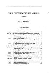 Histoire de l'île de Chypre sous le règne des princes de la maison de Lusignan: Volume1