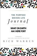 The Purpose Driven Life Journal PDF