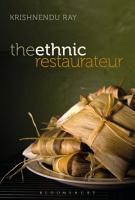 The Ethnic Restaurateur PDF