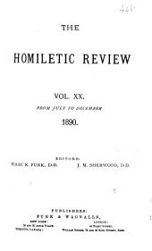 The Homiletic Review: Volume 20