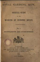 Official Guide to the Museums of Economic Botany Royal Gardens, Kew