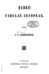 Fabulae Aesopeae