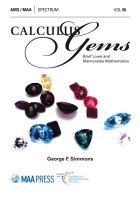 Calculus Gems  Brief Lives and Memorable Mathematics PDF