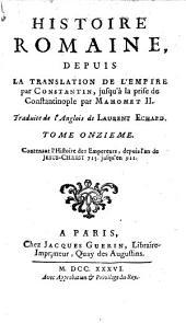 Histoire romaine, depuis la fondation de Rome jusqu'à la Translation de l'empire par Constantin: Volume11