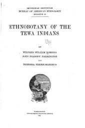 Ethnobotany of the Tewa Indians: Volume 572, Issue 55