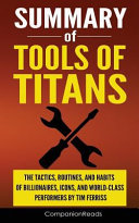 Summary of Tools of Titans PDF