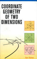 Coordinate Geometry of Two Dimensions