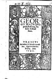 Bassarus. Fabula festinissima. - Traiecti, Harmannus de borculo 1540