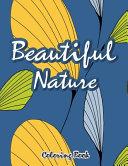 Beautiful Nature Coloring Book Book