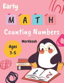 Early Math Counting Numbers Workbook Ages 3 5