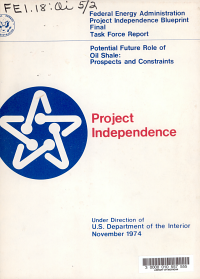 Project Independence Blueprint Final Task Force Report