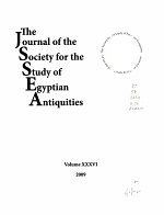 Journal of the Society for the Study of Egyptian Antiquities PDF