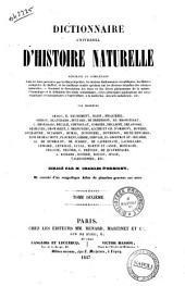 Dictionnaire universel d'histoire naturelle par messieurs Arago ... [et al.!: 10