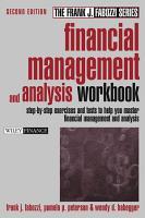 Financial Management and Analysis Workbook PDF