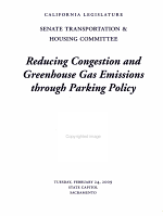 Reducing Congestion and Greenhouse Gas Emissions Through Parking Policy PDF