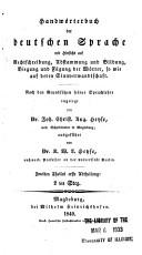 Handw  rterbuch der deutschen Sprache PDF