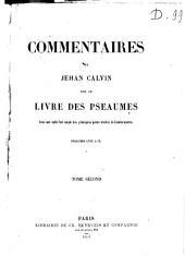 Commentaires sur le livre des psaumes